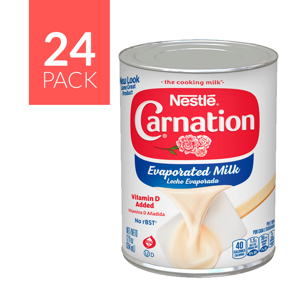 Nestlé Carnation Milk 24 pack of 12oz each