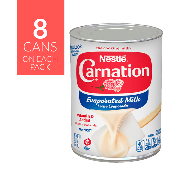 Nestlé Carnation Milk 3/8/12oz