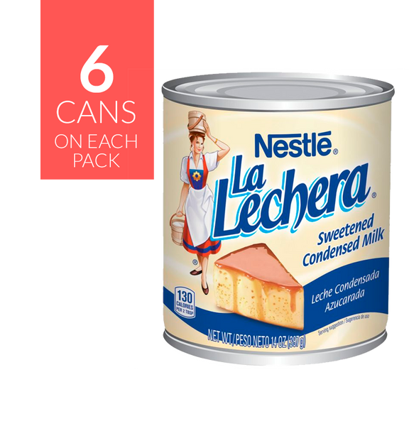 Nestlé La Lechera 4 pack, 6 cans of 14oz each
