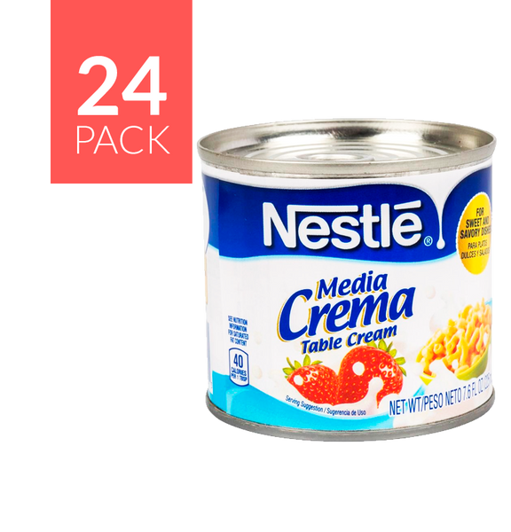 Nestlé Media Crema 24 pack of 7.6oz each