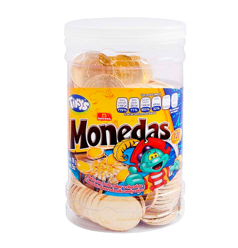 Nutresa Monedas de chocolates 1/120
