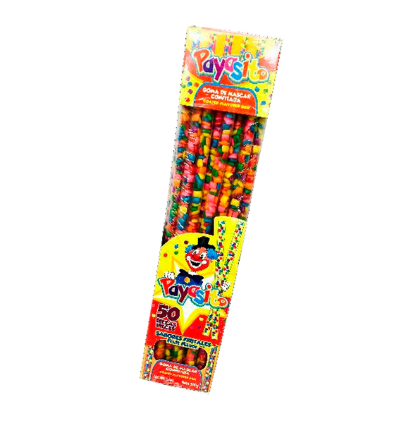 Payasito Barritas C/chicles 1/50