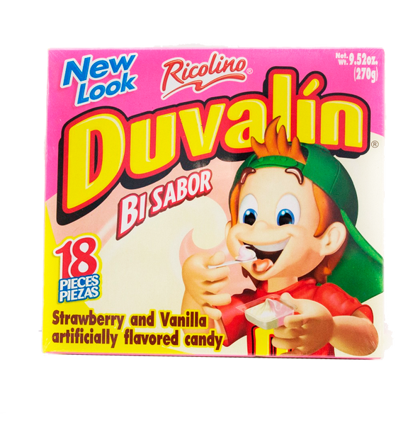 Ricolino Duvalin Strawberry - Vainilla 24/18