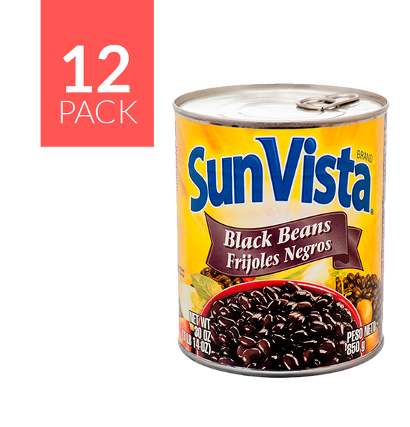 Sun Vista Black Beans12/30 oz