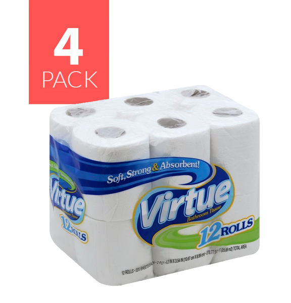 Virtue Papel de Bano Unscent 4/12/225