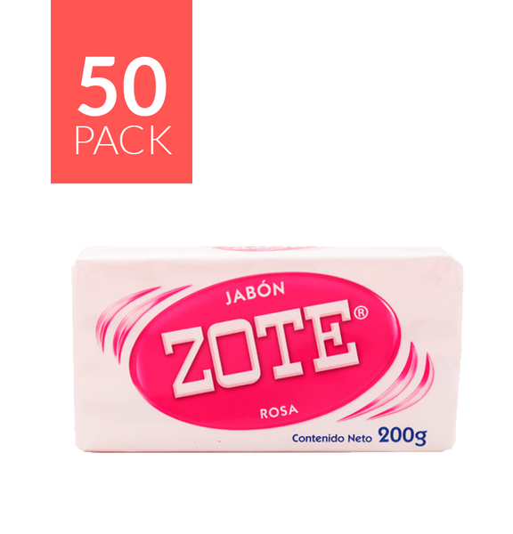 Zote Pink Bar Soap 50/200 Grms