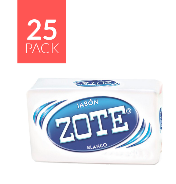 Zote Blanco Bar Soap 25/14.1 oz