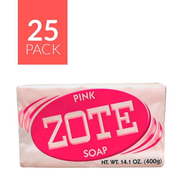 Zote Pink Bar Soap 25/14.1 oz