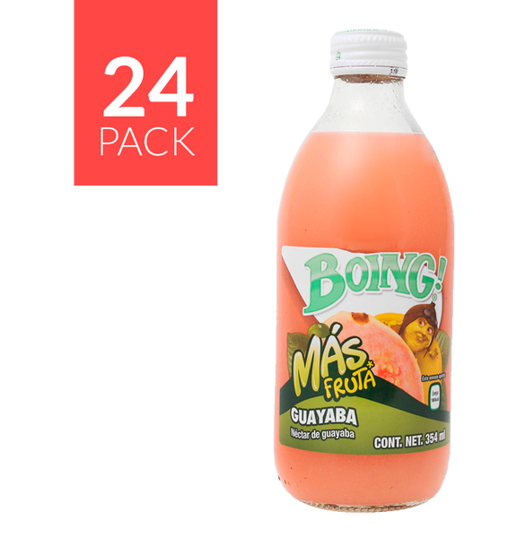 Boing Guayaba Botellin 24 pack 12oz