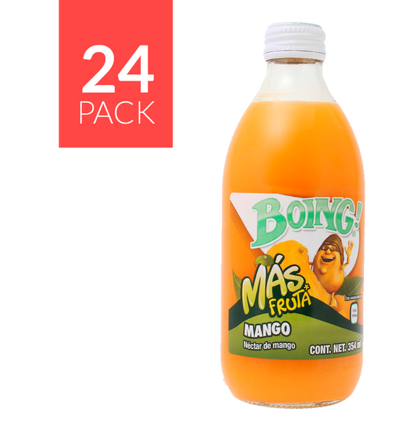 Boing Mango Botellin 24 pack 12oz
