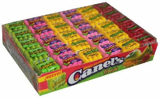 Canel's Chicles 4 Pastillas Fruity 40/60