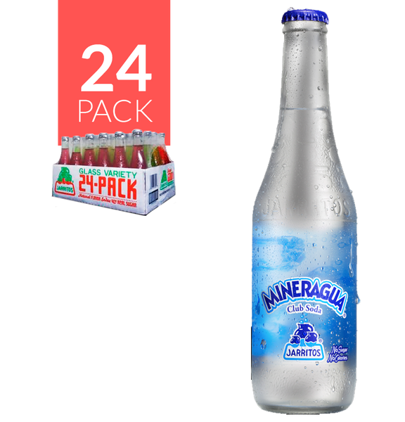 Jarritos Mineral Agua Club Soda 1/24 12.5oz