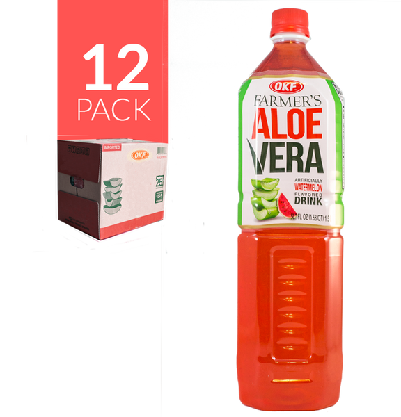 Okf Aloe Drink de sandia12 Pack de 1,5 ml