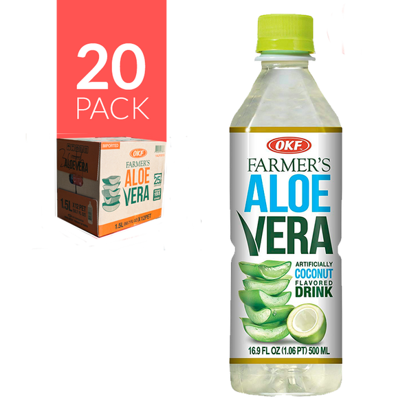 Okf - Aloe Drink Coco 12 pack de 500 ml