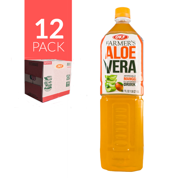 Okf Aloe Drink Mango 12 Pack de 1,5 ml