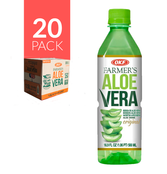 Okf - Aloe Drink Mango 20 Pack de 500 ml