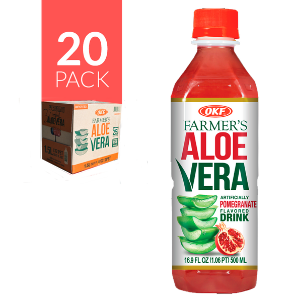 Okf Aloe Drink Granada 20 pack de 500 ml