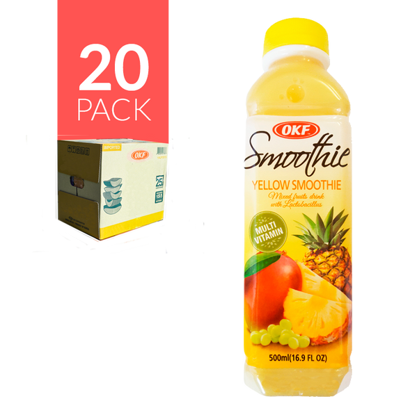 Okf - Smoothie Amarillo 20 pack de 16.9oz
