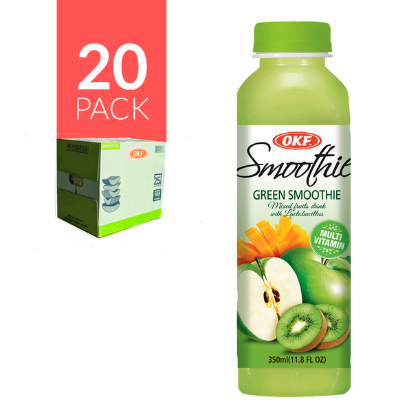 Okf - Smoothie Verde 20 pack de 16.9oz