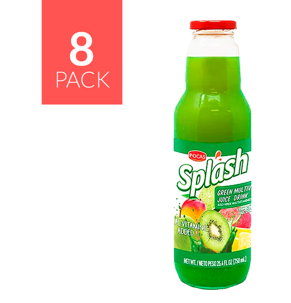Pocas Splash Multivitamin Drink 8 pack de 750ml