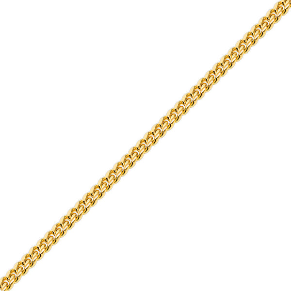 10mm Gold Miami Cuban Link Chain for Men
