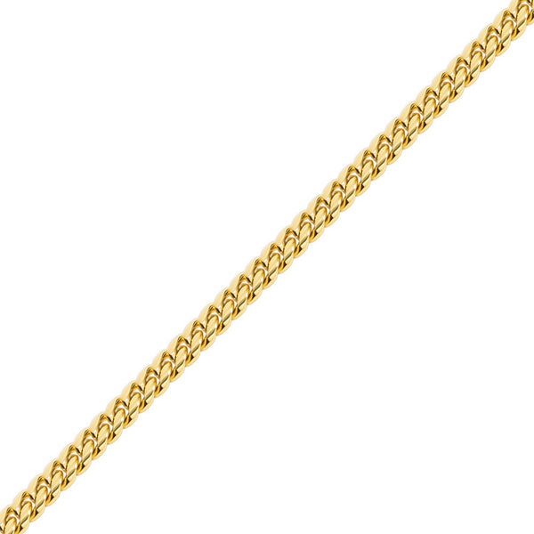 12mm Hip Hop Gold Miami Cuban Link Chain for Men