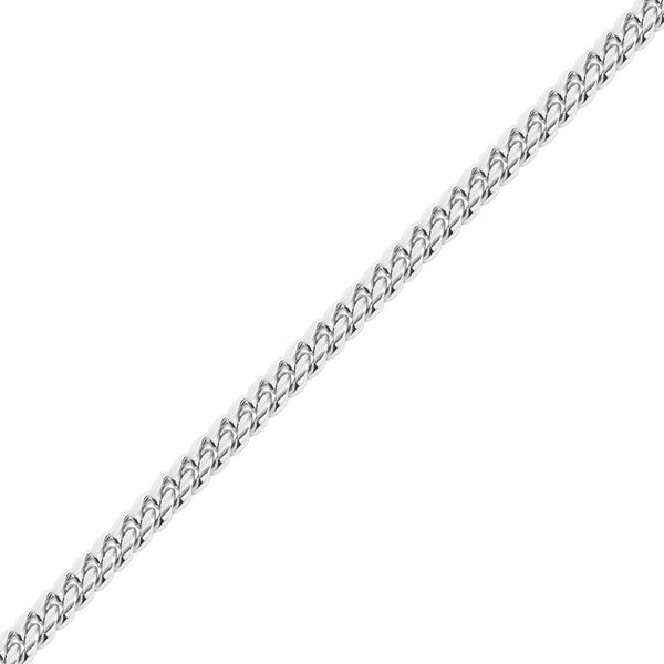 12mm Men's White Gold Miami Cuban Link Chain for Men