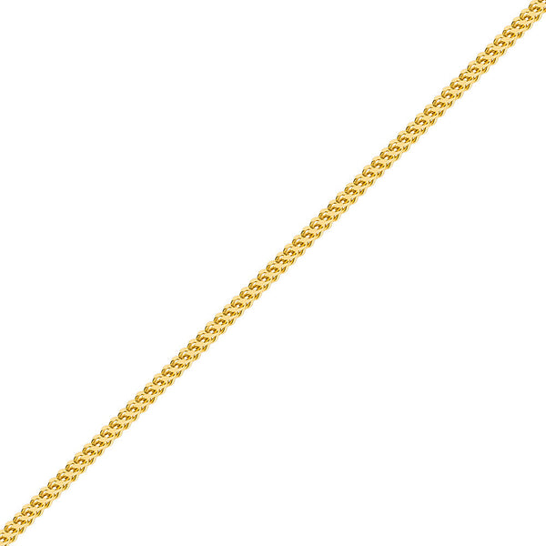 5mm Men's Gold Franco Chain Necklace