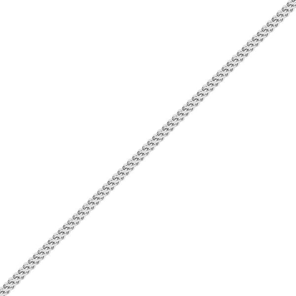 5mm Hip Hop White Gold Franco Chain for Men