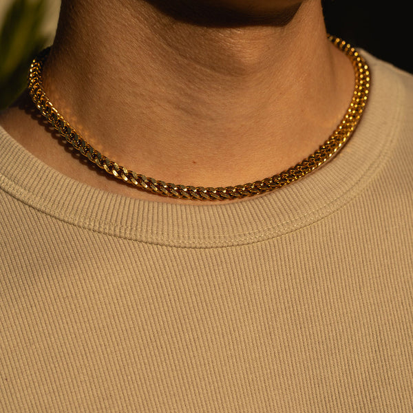 5mm Gold Franco Chain