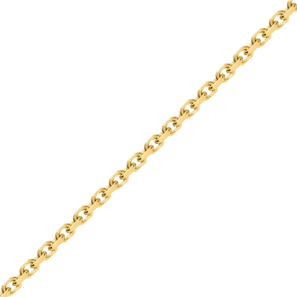 8mm Gold Odin Link Chain