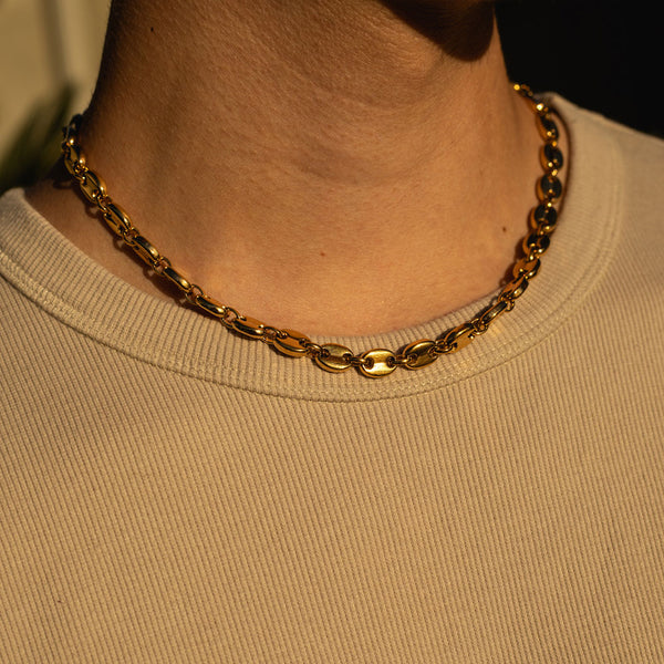 8mm Gold Gucci Chain