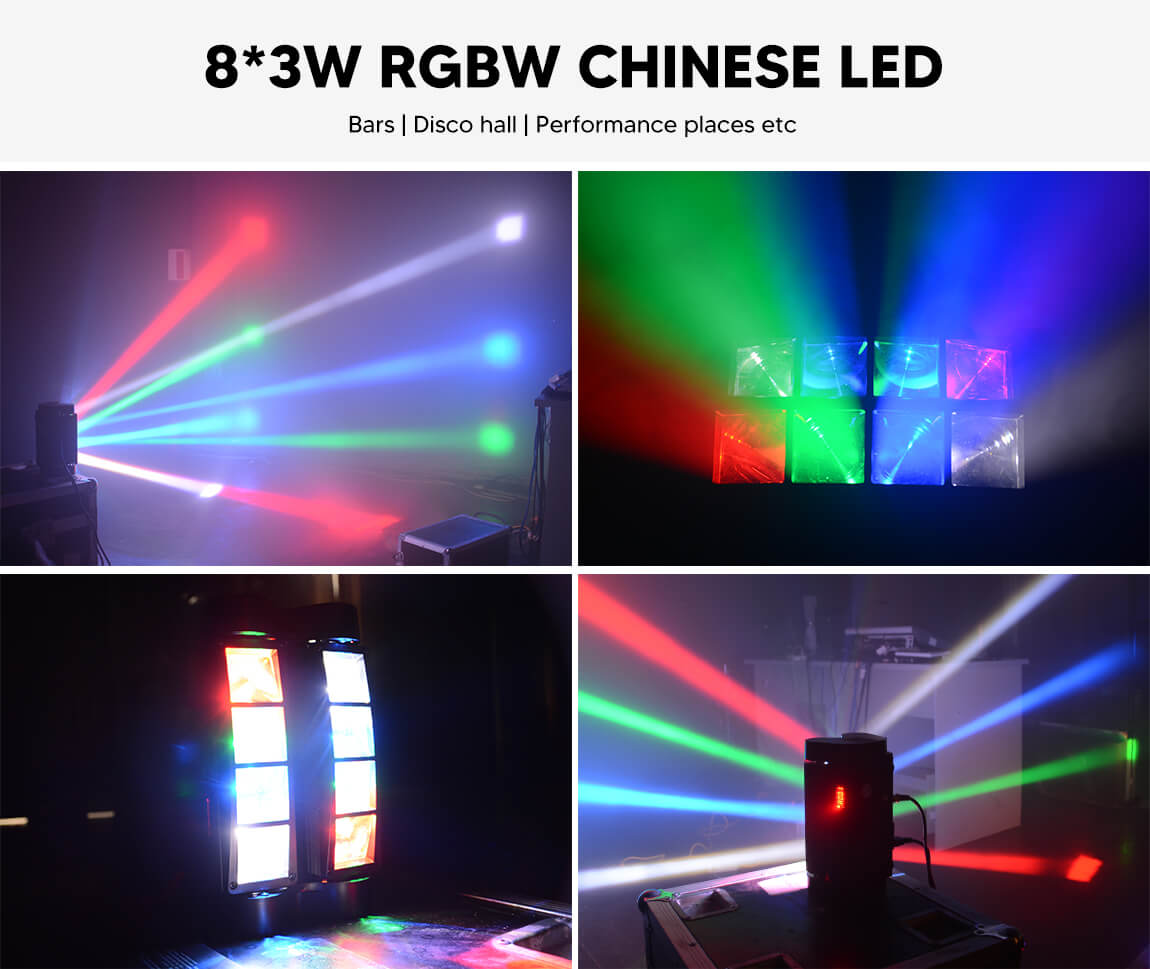 BETOPPER Mini Spider Moving Head Lighting LM30A Gobos & Colours