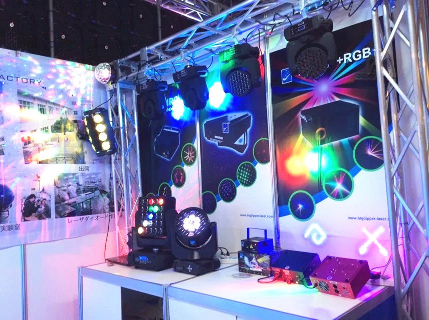Japan Stage Light Exhibition-Betopper&Big Dipper