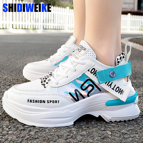 2019 New Spring Autumn Fashion Women Casual Shoes Comfortable Platform Shoes Woman Sneakers Ladies Chaussure Femme g357 - shoescraze