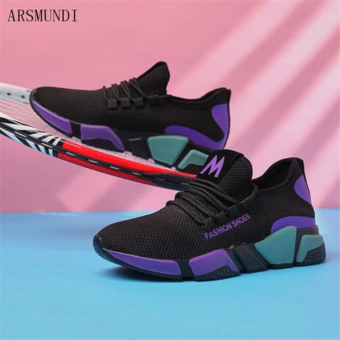 ARSMUNDI Women Shoes Light Women Sneakers Air Mesh Tenis Feminino Women Casual Shoes Vulcanize Breathable Trainers M521 - shoescraze