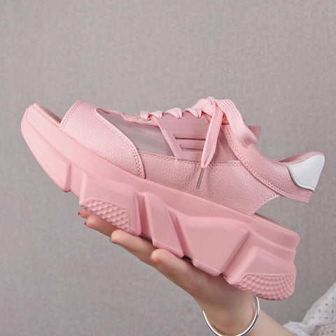Women Sandals 2019 Summer Shoes Platform Sandalias Mujer Ladies Flat Woman Summer Shoes Chunky Zapatos Chaussures Sandales Femme - shoescraze
