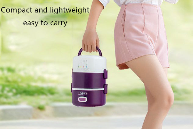 Electric heating multifunctional lunch box