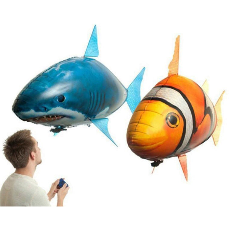 【Special Offer Today Only & Buy 2 Free Shipping】Remote Control Flying Fish Aluminum Foil Helium Balloon