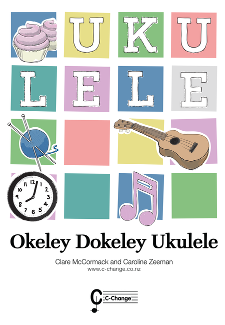 Okeley Dokeley-Ukulele AU+Book