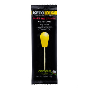 Keto Pop 8ct Coconut