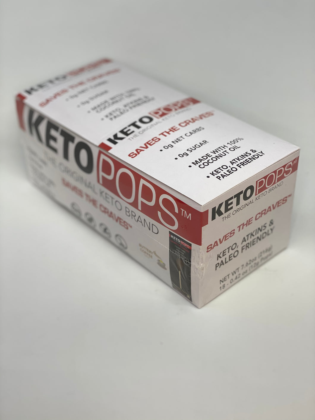 Keto Pop Buttery Coffee 18ct Box