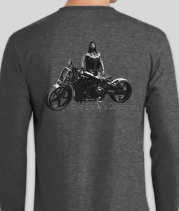Big Steve's Designz Grey Long Sleeve T-shirt