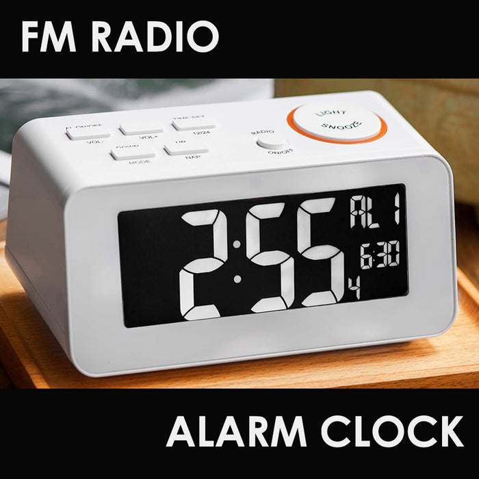 FM Radio Alarm Clock - B Cool 2