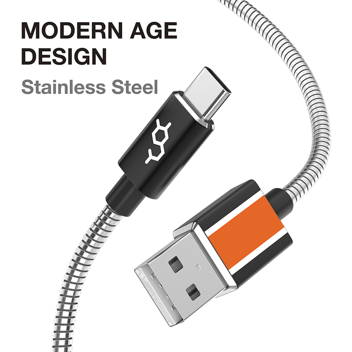 Dausen Stainless Charge&Sync Cable - B Cool 2