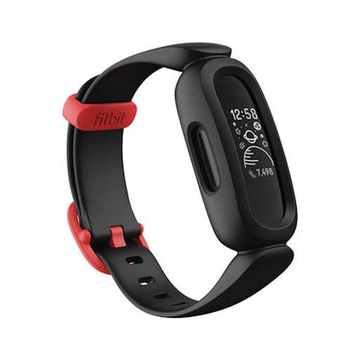 Track your child's steps and sleep patterns with the new Fitbit Ace 3 Kids Fitness Tracker, it will track all daily activity, showing your child how every hop, skip, and jump counts towards a healthy lifestyle.