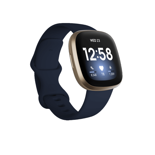 Get yourself moving and keep your track and phone notifications with the Fitbit Versa 3 GPS Smartwatch, the motivational health & fitness smartwatch with built-in GPS, Active Zone Minutes, music experiences and more to keep you connected with the every day life and make you more active and happy.