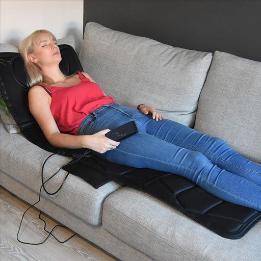 Full Body Massager Mat that also comes with heat function for soothing relaxation