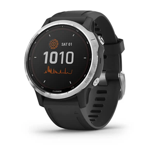 Garmin Fenix 6S Solar, featuring a Power Glass™ solar charging lens and customisable power manager modes, this smartwatch can stay on and be performance-ready for weeks.