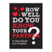 How Well Do You Know Your Partner - B Cool 2